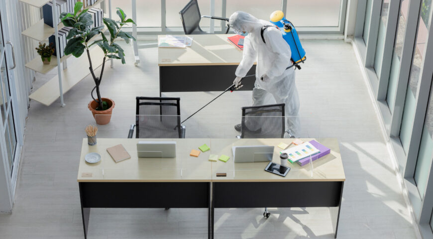 Commercial Cleaning Service: How do they benefit your company?