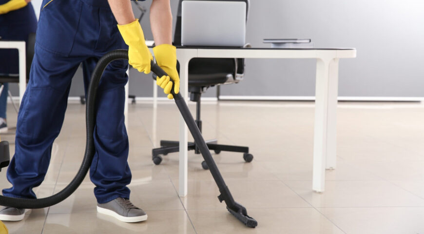 Give your office a positive impact using a commercial cleaning service